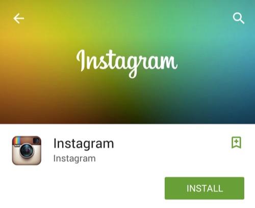 Install Instagram